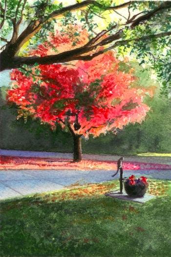 Autumn on Hovey