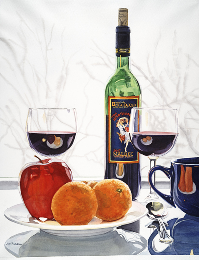 Malbec and Clementines